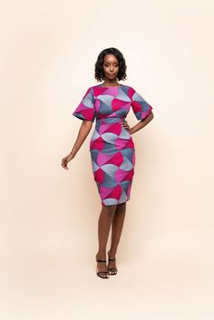 African Inspired Clothing, African Print Clothing, African Print Fashion, Short African Dresses, Latest African Fashion Dresses, African Print Dresses, Simple Dress Styles, Simple Dresses, African Attire