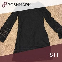 Long sleeve lace dress Black long sleeve lace dress Dresses Long Sleeve