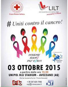 #Uniticontroilcancro conquista la piscina comunale di Avezzano