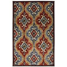 @Overstock - This eye-catching pattern features an ikat design in vivid primary colors. This rug is extremely durable and vibrant.http://www.overstock.com/Home-Garden/Primary-Ikat-Primary-Area-Rug/7569342/product.html?CID=214117 $84.99