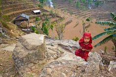 Photos of Children in Nepal
