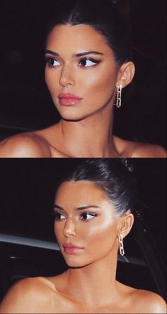 Discovered by Pretty Little Thing. Find images and videos about make up, kendall jenner and celebrities on We Heart It - the app to get lost in what you love. Ojos Kendall Jenner, Maquillage Kendall Jenner, Kendall Jenner Eyebrows, Kendall E Kylie Jenner, Kendall Jenner Surgery, Victoria Secrets, Kim Kardashian, Kardashian Kollection, Le Style Du Jenner