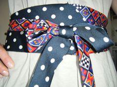 Ceinture cravates