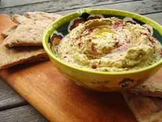 Roasted vegetable hummus