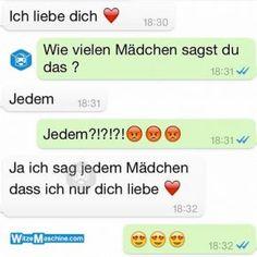Lustige WhatsApp Bilder und Chat Fails 220 - Lustiger Romantiker