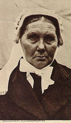 Vrouw met Brabantse muts