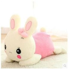 New Arrival Cute Design Christmas Birthday Gift Plush Toys Doll Kawaii  face Rabbit  Length 26cm.Best gift for children-in Stuffed & Plush Animals from Toys & Hobbies on Aliexpress.com | Alibaba Group
