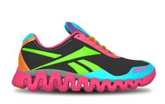 Reeboks ZigTech. The sole sends a wave of energy along the length of the shoe to help propel you forward with every step.