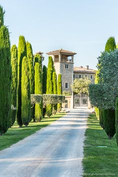 Chateau in Provence, France