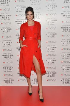Kendall Jenner Photos - Kendall Jenner Launches Modern Muse Le Rouge at Macy's Herald Square - Zimbio