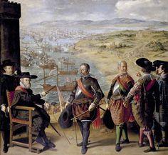 The Defense of Cadiz against the English. 1634, Francisco de Zurbarán.