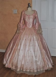 Phantom of the Opera Marie Antoinette Style Bustle Gown