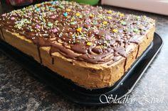 Karamelové rezy dvojfarebné - Sladký život - receptár sladkých dobrôt