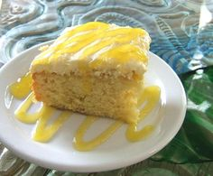 Hawaiian Pineapple Poke Cake