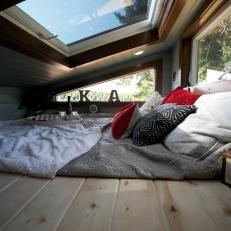Tiny House Bedroom With Skylight