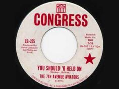 The 7th Avenue Aviators - You Should 'O Held On #NorthernSoul #SoulMusic