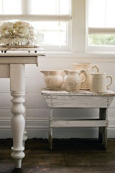 PHOTOGRAPHY: JARED FOWLER. STYLING: GERALDINE MUNOZ- Homelife-White-country-cottage. #InteriorDesign.