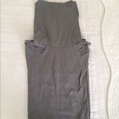 Grey Turtleneck 100% cotton and never worn! In new condition! Miss Me Tops