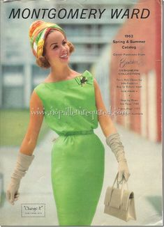 Vintage Montgomery Ward Spring and Summer 1962 Catalog