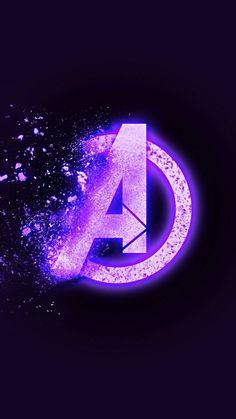 Avengers Endgame Dust Logo IPhone Wallpaper - IPhone Wallpapers