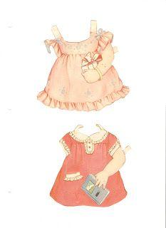 Papier Missy Mlle Dolls: les poupées de papier Pepper Polly
