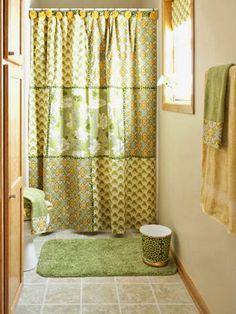 cortina com pompons