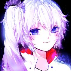 Weiss.  Is it just me, or does she look a bit yandere here?