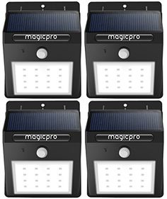 outdoor dcorative lighting solar lights magicpro 16 led wireless solar lights waterproof motion sensor outdoor
