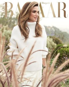 "Royal Ladies on Twitter: ""Queen Rania on Harpers Bazaar Arabia March 2019 Cover.… """