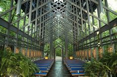 Award Winning Arkansas Thorncrown Chapel by Fay Jones (7)