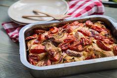 16+1 λαχταριστές συνταγές που σε κάνουν να ξεχνάς ότι είναι vegan - madameginger.com Hawaiian Pizza, Ratatouille, Vegetable Pizza, Shrimp, Sausage, Clean Eating, Vegan, Health, Ethnic Recipes