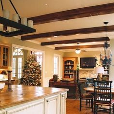 Exposed Beams Design, Pictures, Remodel, Decor and Ideas - page 3