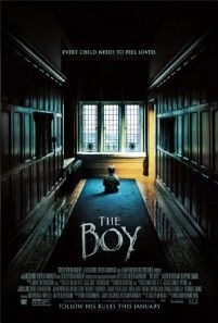 The Boy -  An American nanny is shocked that her new English family's boy is actually a life-sized doll. After she violates a list of strict rules disturbing events make her believe that the doll is really alive.  Genre: Horror Mystery Thriller Actors: James Russell Jim Norton Lauren Cohan Rupert Evans Year: 2016 Runtime: 97 min IMDB Rating: 6.0 Director: William Brent Bell  The Boy full movie online - original post here: http://www.insidehollywoodfilms.com