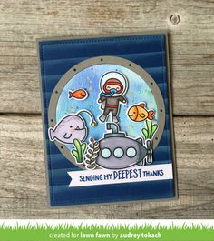 Lawn Fawn Intro: You Are Sublime, Lift the Flap Circles, Porthole Frames - Lawn Fawn