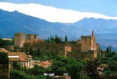 Granada Alhambra Mountains, Spain