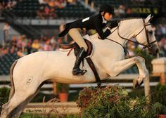 C Coast Z and Lillie Keenan. I love this horse   and she is such an amazing rider