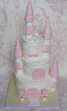 My First Princess Castle Cake