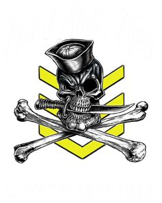 1st Class IYAOYAS Yellow Navy Rate Shirt $19.95