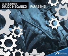 Arte pelo Dia do Mecânico - 2015