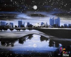 19 Best The paint nite? images in 2015 | Canvas art, Canvas