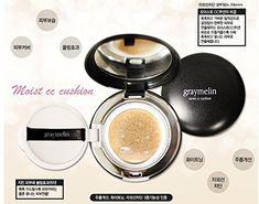 GRAYMELIN Moist CC cushion SPF50PA Korean cosmetics Korean beauty Kpop style >>> Amazon most trusted e-retailer #KoreanMakeup