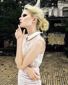 Fashion: All White Wow #dailymail