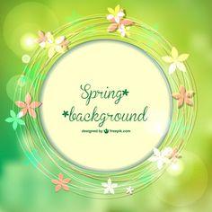 春のベクター画像