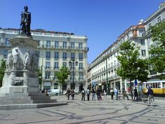 Chiado District in Lisbon, Portugal Us Travel, Travel Tips, Lisbon Portugal, Go Shopping, Museums, The Neighbourhood, To Go, Street View, Vacation