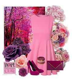 Rose Hope by jennyros on Polyvore featuring polyvore, fashion, style, Glamorous, Lipsy, ALDO, Gucci, Rosena Sammi Jewelry, Diane James and clothing