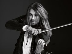 David Garrett, lead roll in The Devil's Violinist. this man is not only gorgeous, but made me have a whole new respect for the violin. David Garrett, Thomas Sabo, Gorgeous Men, Hair Inspiration, Sexy Men, Hot Men, Hot Guys, How To Look Better, Long Hair Styles