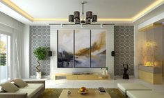 Huge Original Abstract  Painting by Andrada, Huge 60x72, 6 Foot painting,Three…