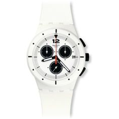 Swatch Men's SUSW406 'Originals Why Again' Chronograph Silicone Watch