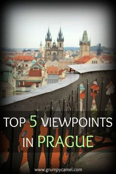 Prague is incredibly photogenic! Here's where you can go to capture stunning shots of this city: http://www.grumpycamel.com/top-5-viewpoints-in-prague/