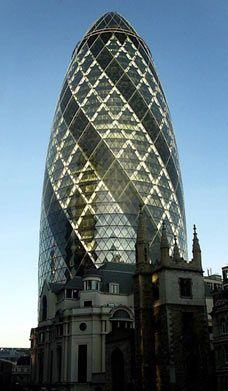 The Gherkin, London. London Calling, Pickle, The Fosters, Wales, Places Ive Been, Skyscraper, Scotland, Buildings, Multi Story Building
